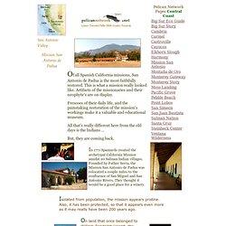 Mission San Antonio de Padua - Pelican Network