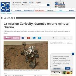 Curiosity: Neuf mois de mission résumés en une minute