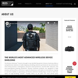 Mission Darkness - About Us Page – MOS Equipment