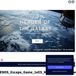 Genially Mission_exoplanètes by srodot