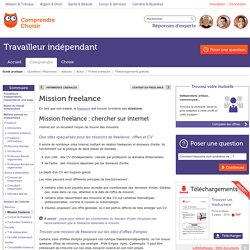 Mission freelance : trouver des missions en freelance