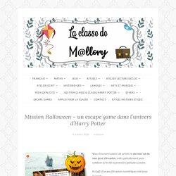 Mission Halloween – un escape game dans l'univers d'Harry Potter