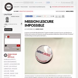 Mission Lescure impossible