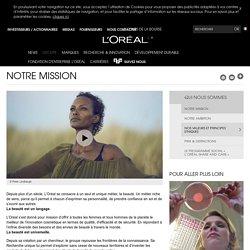 Notre mission : l'innovation cosmétique pour tous