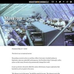 Mission Moon: Apollo 11 lunar landing leaves lasting legacy 50 years later - Houston Chronicle