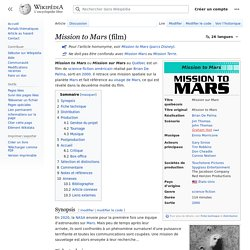 Mission to Mars (film)