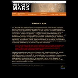 Mission to Mars: Home
