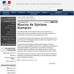 Mission de Sylviane Giampino