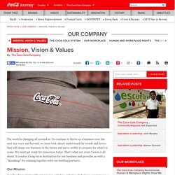 Mission Statement & Vision: The Coca-Cola Company