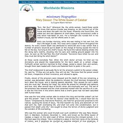 Mary Slessor Scottish missionary Nigeria Africa - Missionary Biographies - Worldwide Missions