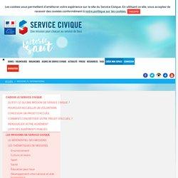 Service Civique - Missions à l'international