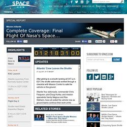 Human Spaceflight & 30 Years of NASA Shuttle Missions