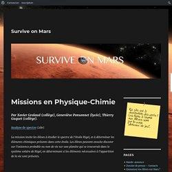 Missions en Physique-Chimie