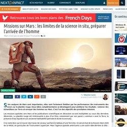 Missions sur Mars : les limites de la science in situ, préparer l'arrivée de l'homme