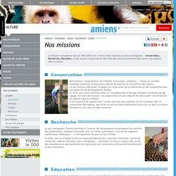Les missions du parc zoologique d'Amiens
