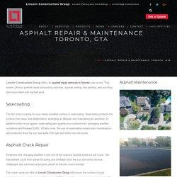 Asphalt Repair Mississauga, Asphalt Maintenance Etobicoke, GTA