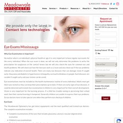 Quality Eye Care Service in Mississauga, ON