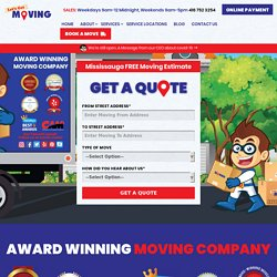 Best Moving Company, Professional Residential & Commercial Movers Mississauga Ontario