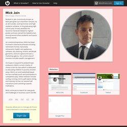 Mick Jain Wealth Management Businesses In Northern Ontario