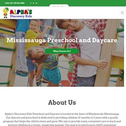 Early Learning Centre Mississauga