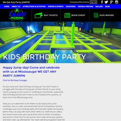 Organize Thrilling, Fun-Filled Kids Birthday Party in Mississauga with Air Riderz