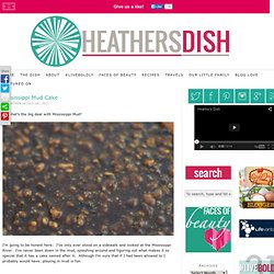 Mississippi Mud Cake | Heather's Dish