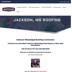 roofing contractors jackson MS