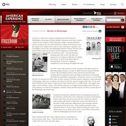 Mississippi civil rights murders (Phili) pbs