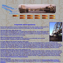 Mississippi River Resource -- FAQ