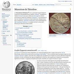 Missorium de Théodose