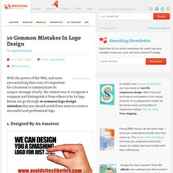 10 Common Mistakes In Logo Design