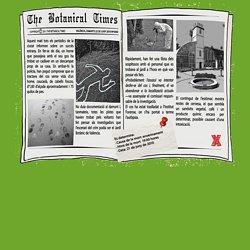 Misteri al Botànic - Principal
