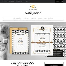 Nabefabric – Mariage