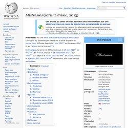 Mistresses (série télévisée, 2013)