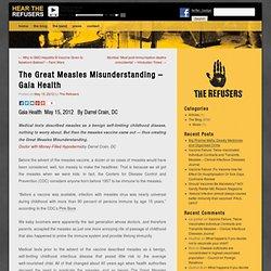 The Great Measles Misunderstanding – Gaia Health
