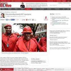 DA misunderstands EFF's purpose