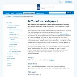 MIT-Haalbaarheidsproject