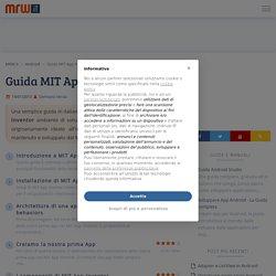 MIT App Inventor - La guida in italiano