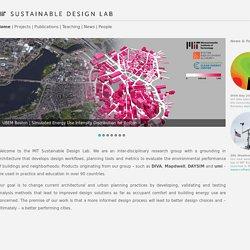 MIT Sustainable Design Lab