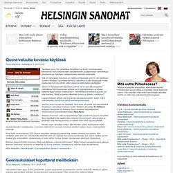 Mitä uutta Piilaaksossa? - Blogit - HS.fi