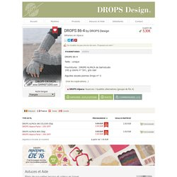 DROPS 86-4 - Mitaines en Alpaca - Free pattern by DROPS Design