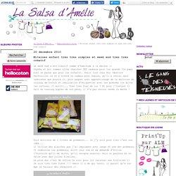 Mitaines enfant très très simples et week end très très créatif - La Salsa d'Amélie...