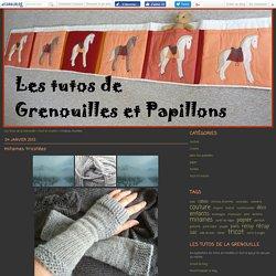 mitaines tricotées - Les tutos de la Grenouille