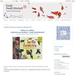 Jardin d'insectes nominé à Montreuil !
