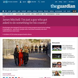 James Mitchell: 'I'm just a guy who got asked to do something for his country'