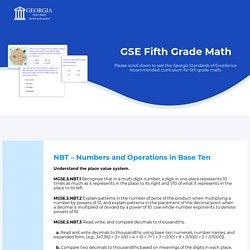 Mitesh - GSE Fifth Grade Math