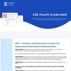 Mitesh - GSE Fourth Grade Math
