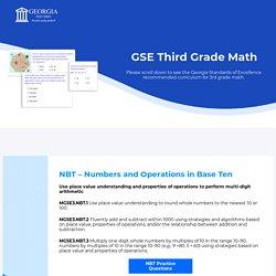 Mitesh - GSE Third Grade Math