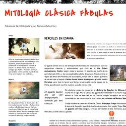MITOLOGÍA CLÁSICA FÁBULAS: HÉRCULES EN ESPAÑA