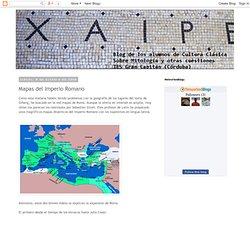 Mitología clásica: Mapas del Imperio Romano